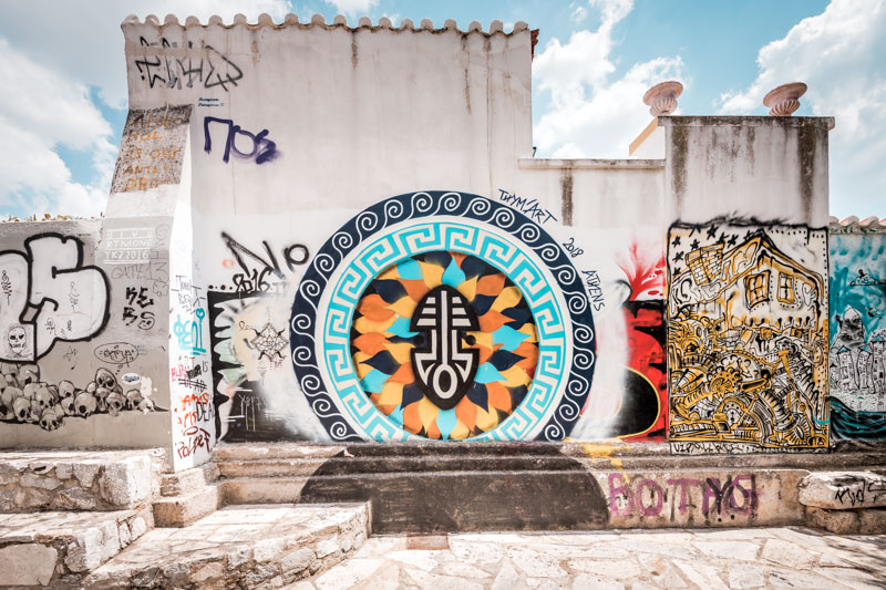 Athen Free Walking Tour Szene Stadtviertel