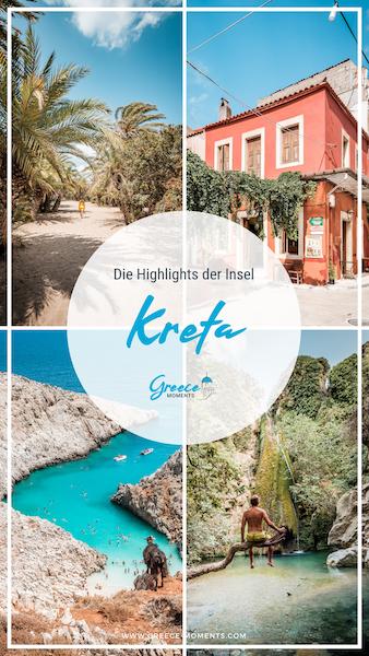 Kreta Griechenland Urlaub Tipps Highlights