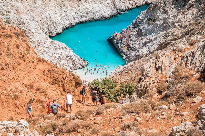 Seitan Limani Schönste Strände Kreta
