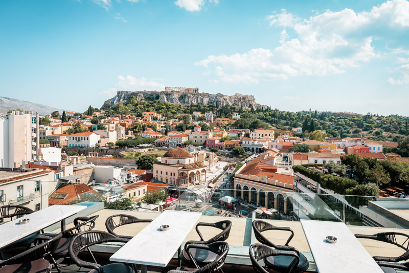 Athens Best Rooftop Terrace