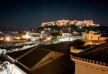 Athens Night Akropolis Highlights