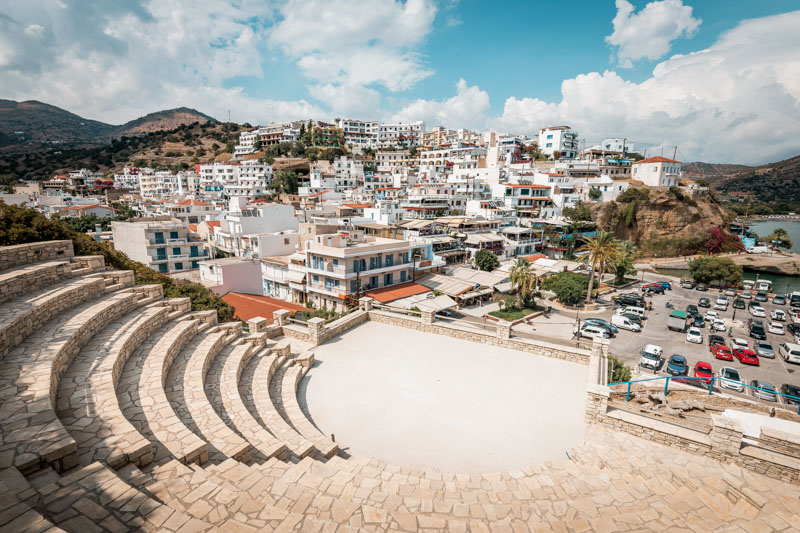 Agia Galini Kreta Urlaub Theater