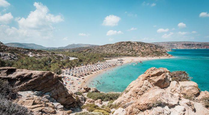 Griechenland Kreta Urlaub Highlights Vai Strand