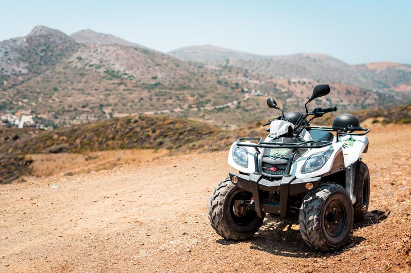Griechenland Urlaub Ikaria Mietwagen Quad