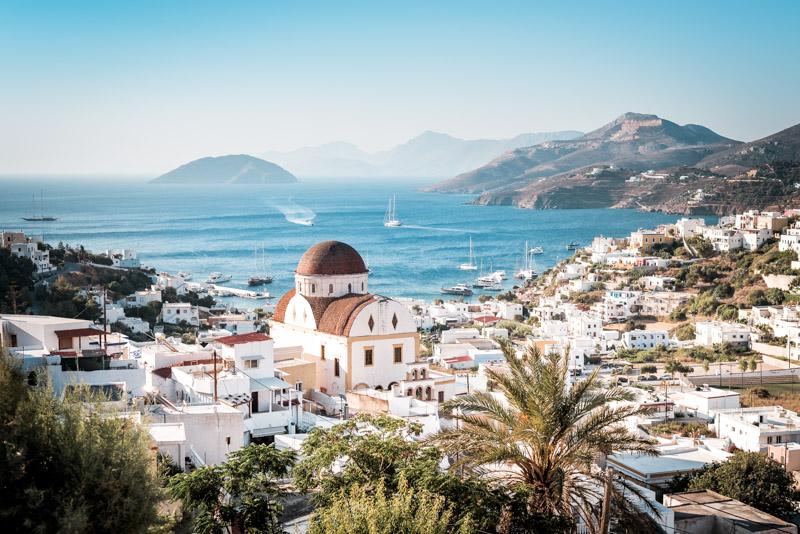 Insel-Leros-Panteli-Panormos-Ausblick