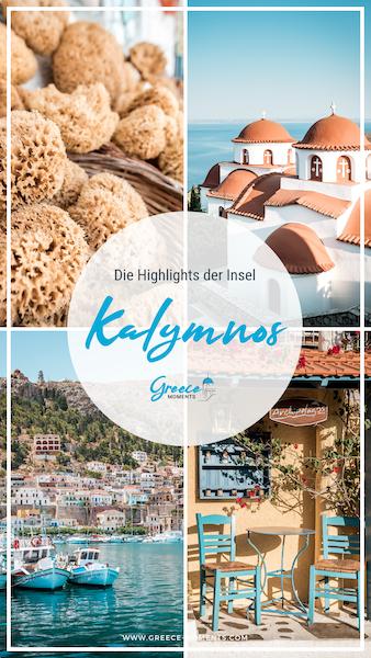 Kalymnos Griechenland Urlaub Tipps Highlights