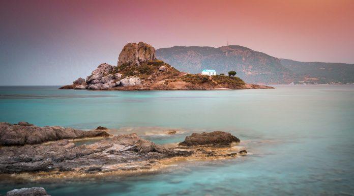 Kos Urlaub Bester Sonnenuntergang Insel Kastri