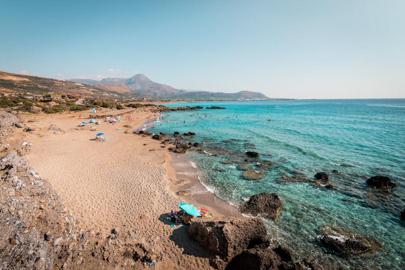 Falassarna Strand Kreta Sehenswürdigkeiten