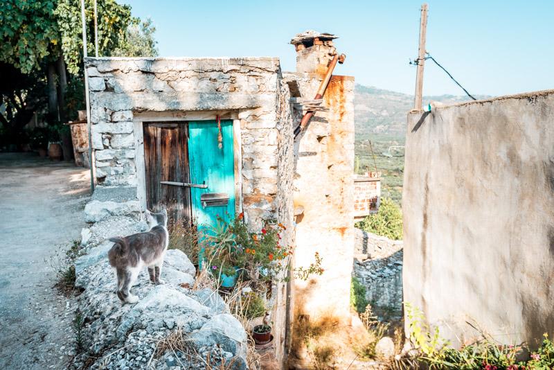 Ierapetra Sehenswürdigkeiten Christos Bergdorf Kreta