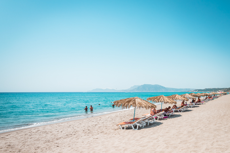 Kos beste strande magic beach