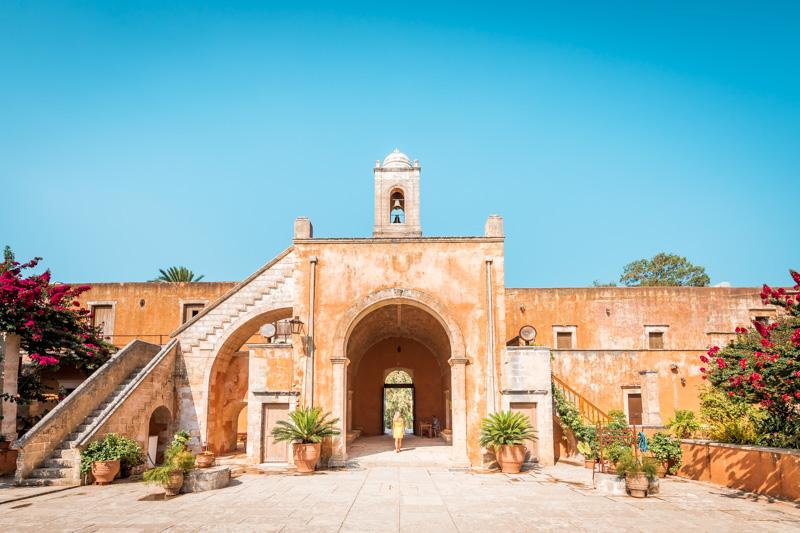 Kreta Kloster Agia Triada Chania