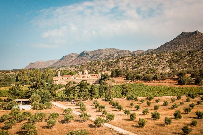 Akrotiri Halbinsel Kreta Kloster Agia Triada