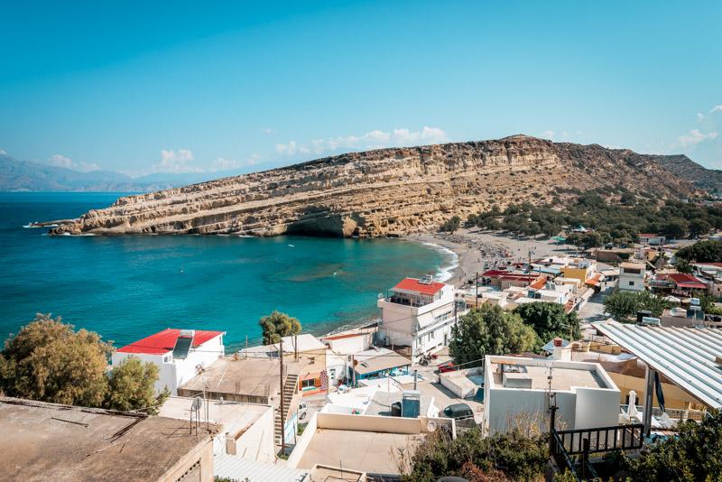 Matala Strand Urlaub Reisetipps Kreta