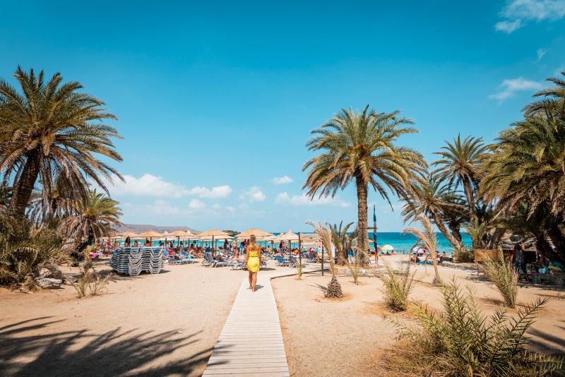 Kreta Strände Vai Beach