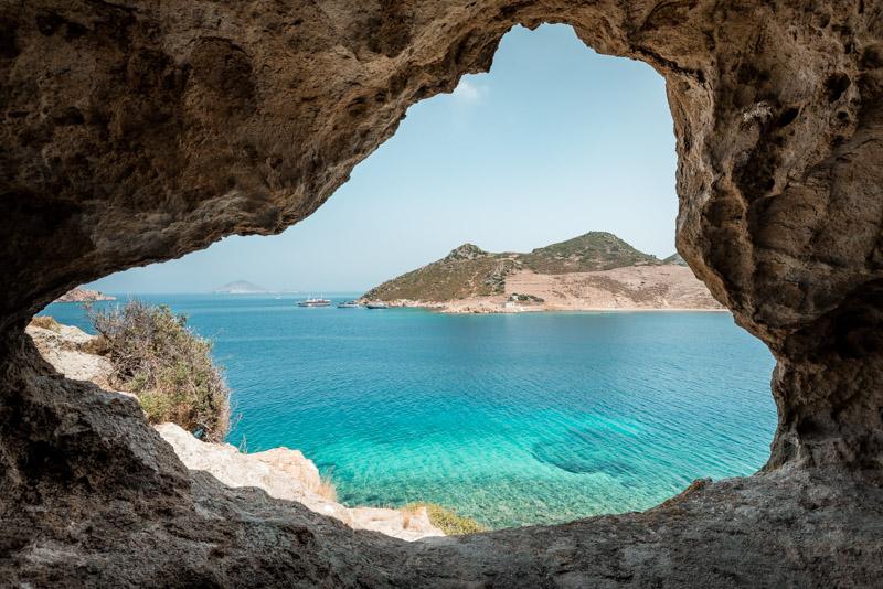 Patmos Grikos Petra Beach