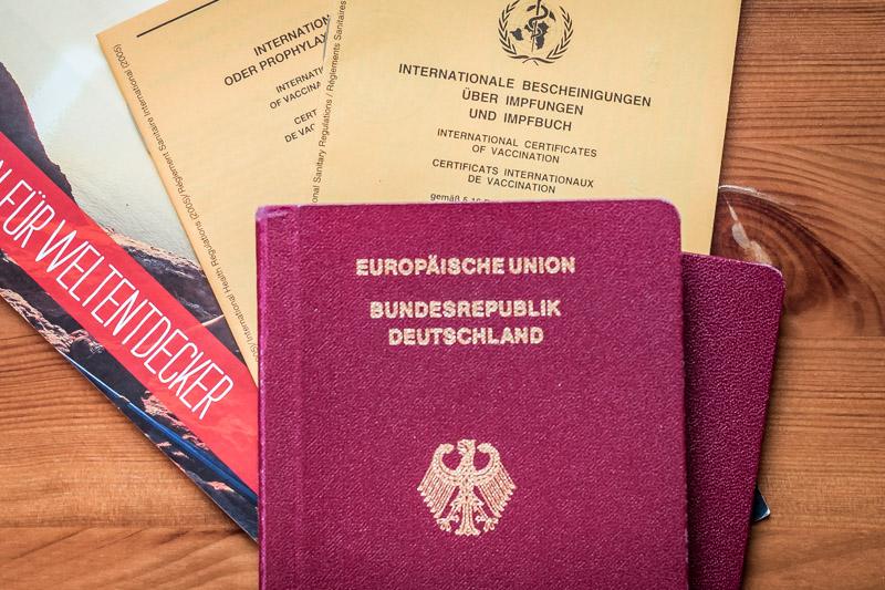 Checkliste Urlaub Europa Reisepass Griechenland