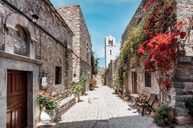 Griechenland Geheimtipp Insel Chios Mesta