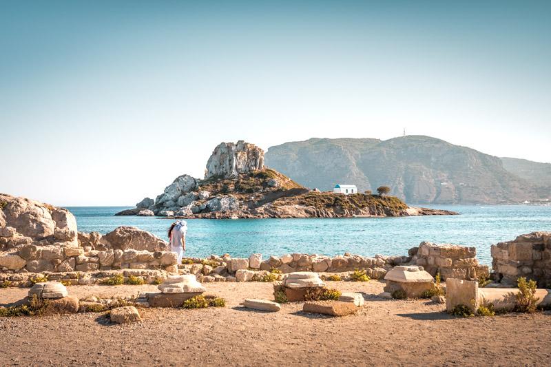 Griechenland Inseln Historische Stätten Kultur Kos