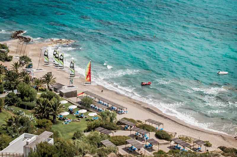 Insel Kos Wassersport Segeln Windsurfer
