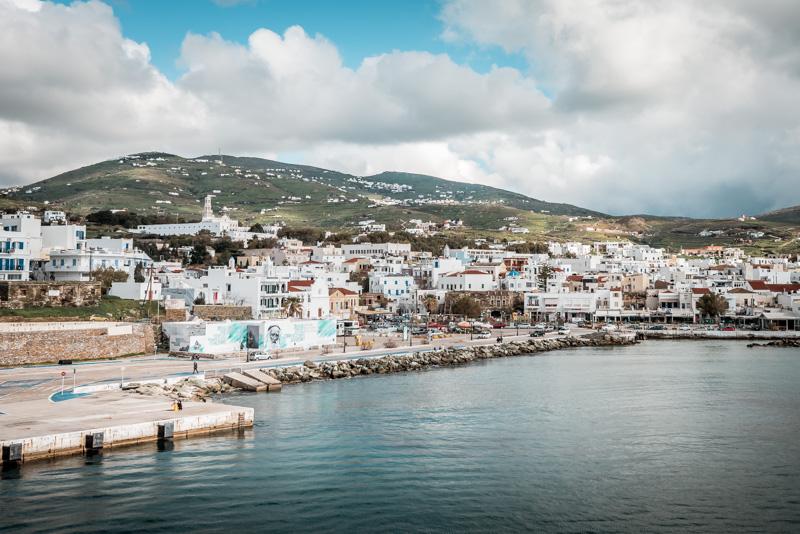 Insel Tinos Griechenland Kykladen Inselhüpfen