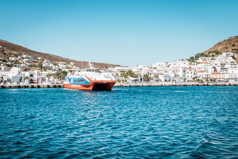Inselhüpfen Griechenland Dodekanes Route Patmos