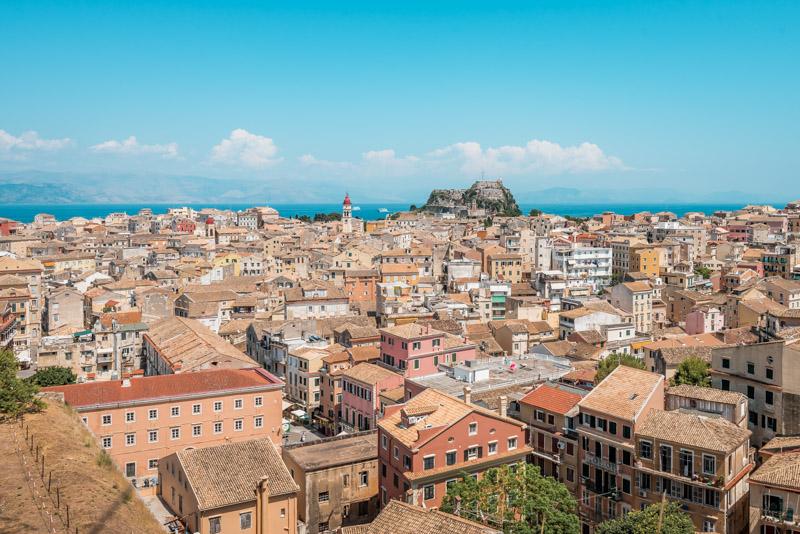 Korfu Stadt Urlaub Ausfluege Inselhopping Paxos