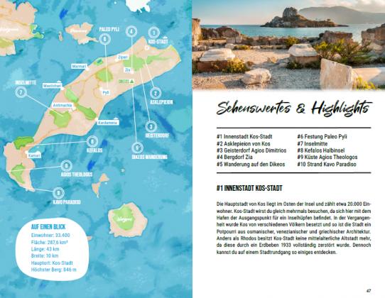 Kos Reisefuehrer Tipps Urlaub Inselhopping Dodekanes