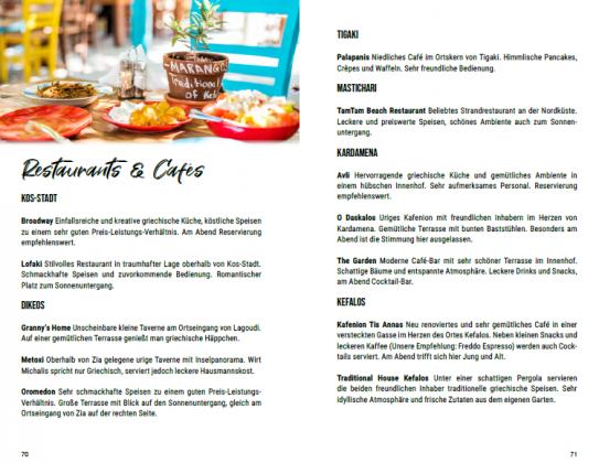 Kos Restaurant Empfehlungen Urlaub Reisefuehrer Dodekanes