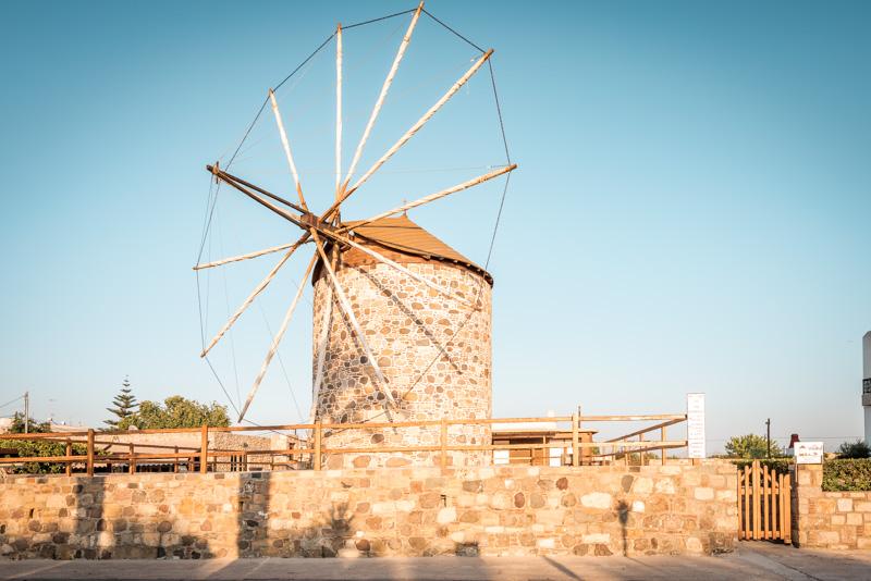 Kos Sehenswürdigkeiten Windmühle Antimachia