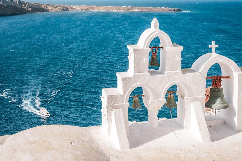 Kykladen Inselhopping Santorini Inselhüpfen Griechenland