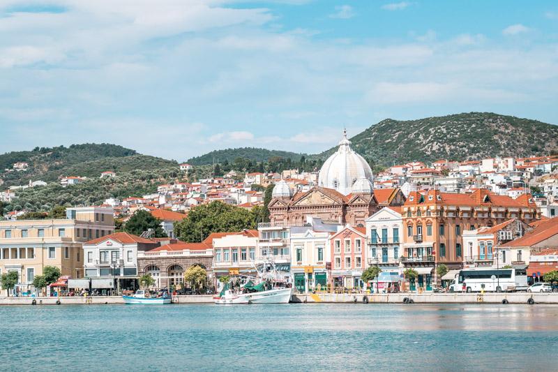 Lesbos Mytilini Urlaub Sicher