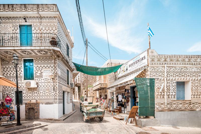 Nord Ägäis Inseln Urlaub Chios Pyrgi