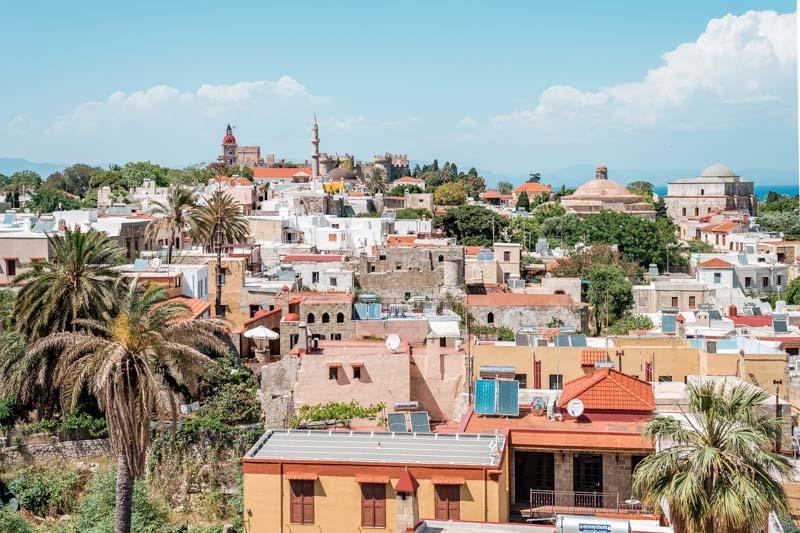 Rhodos Altstadt Sehenswuerdigkeiten Tipps Tagesausflug Urlaub