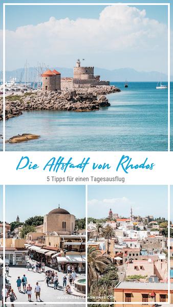 Rhodos Stadt Griechenland Urlaub Tipps Highlights