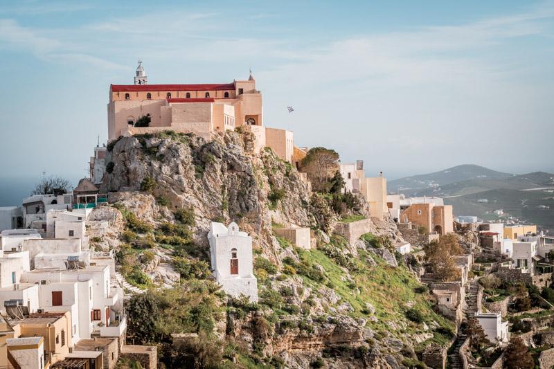 Syros Griechenland Kykladen Kloster
