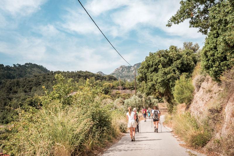 Wandern Griechenland Insel Samos