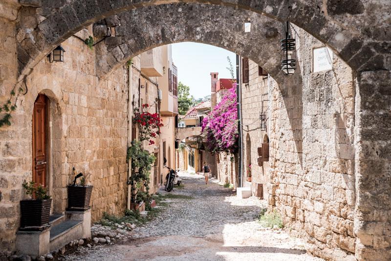 Altstadt Rhodos Mittelalter Unesco