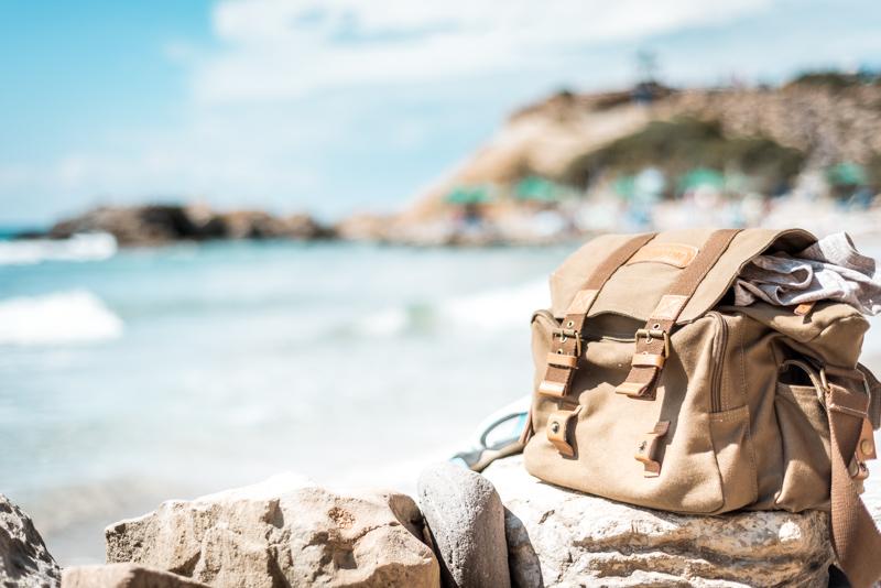 reisegepäck tasche daypack strand