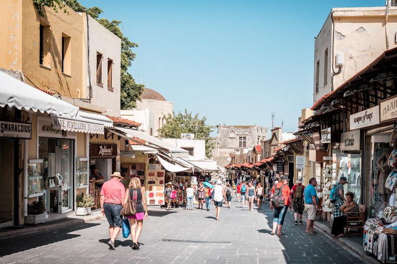 Rhodos Stadt Geschäfte