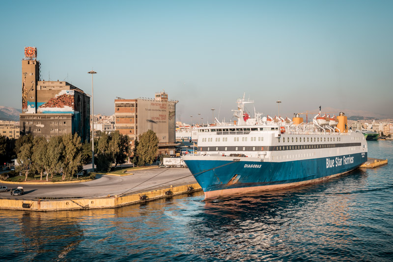 Anreise Kreta Fähre Verbindung Piräus