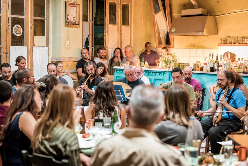 Griechenland Kreta Tradition Musik Lyra