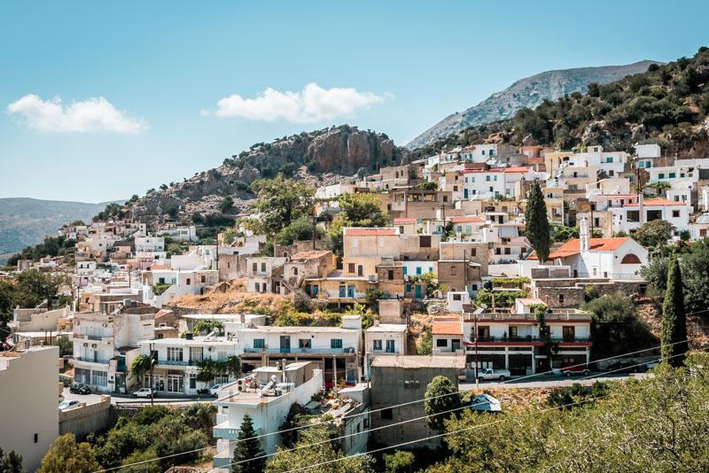 Griechenland Kreta bergdörfer