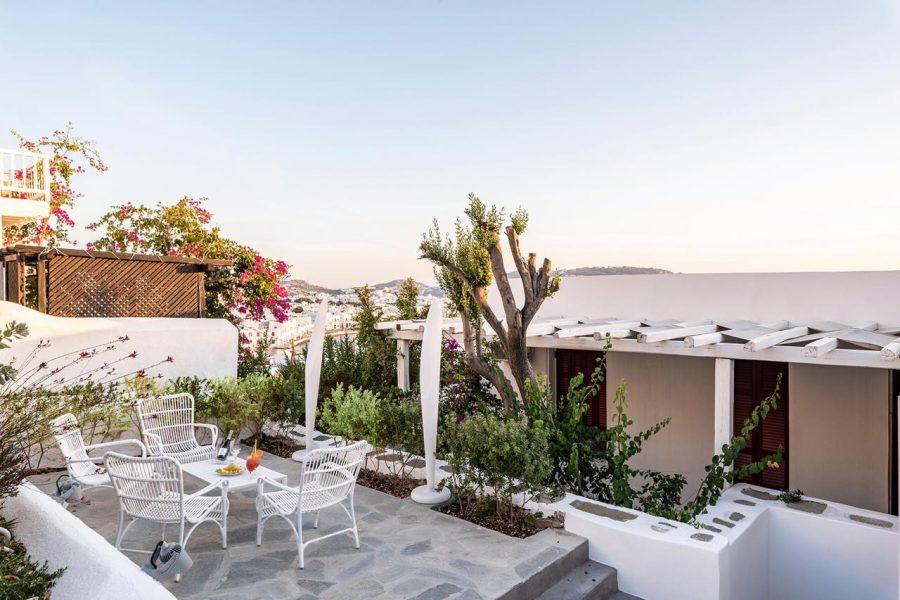 Hotel Mykonos Empfehlung Chora Ausblick
