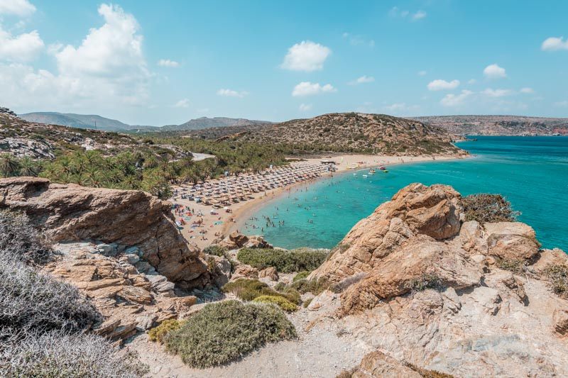 Kreta Straende Tipps Vai Beach