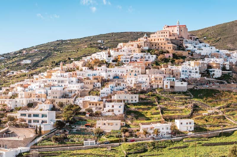 Syros Griechenland Urlaub Kykladen Ano Syros