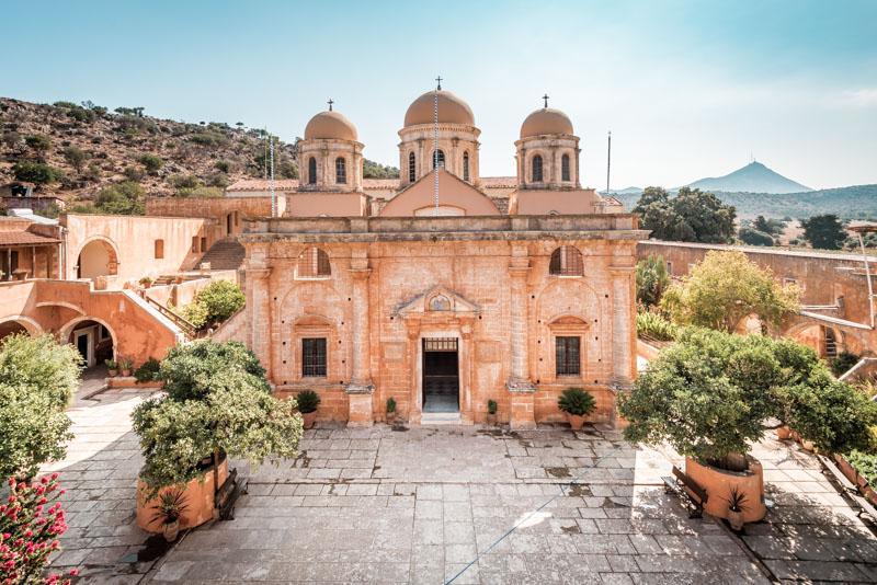 griechenland kreta agia triada kloster monastery