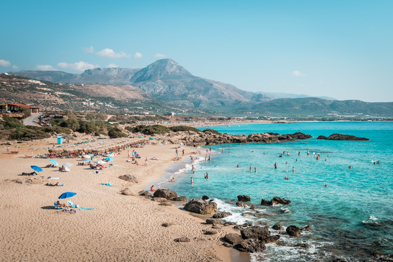 kreta strände falassarna beach