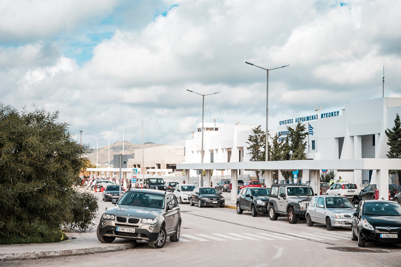 mykonos airport flughafen anreise