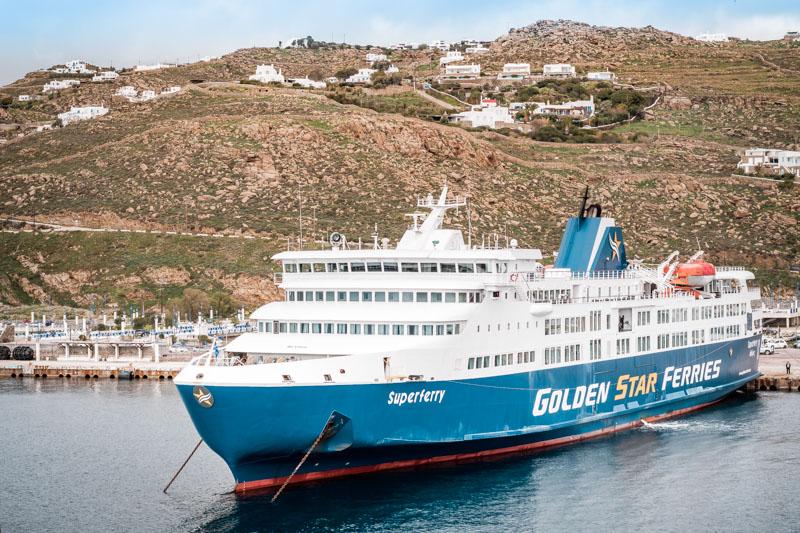 mykonos fähren anreise