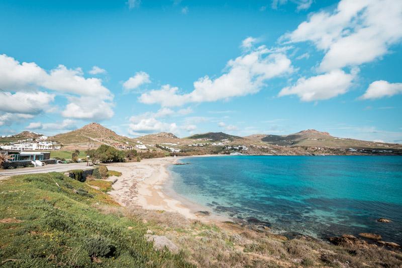 mykonos strände kalafati beach